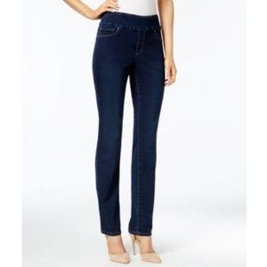 Charter Club Pull-On Slim-Leg Greenwich Jeans